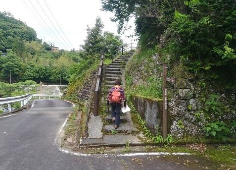 10 果無集落への道