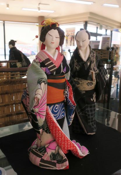 人形作家 大田登美枝さんの人形展示 令和2年8月