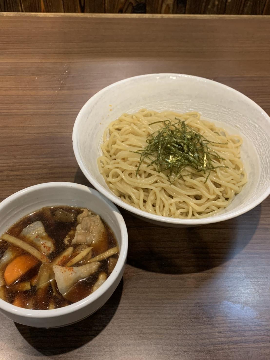 筑前煮つけ麺