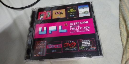 UPLのゲームサントラ