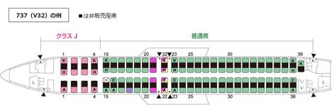 JALは、国内線一部座席の販売を制限、機内で利用者間の距離を確保!