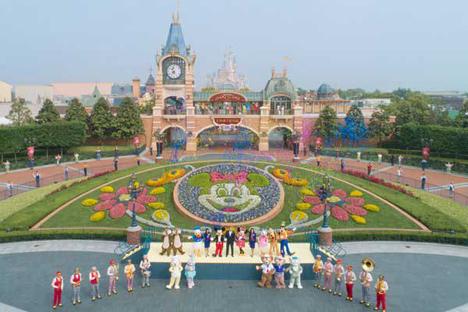 上海ディズニーランドは、営業を再開!