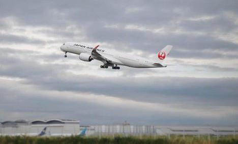 JALは、エアバスA350-900型機-6号機を受領!