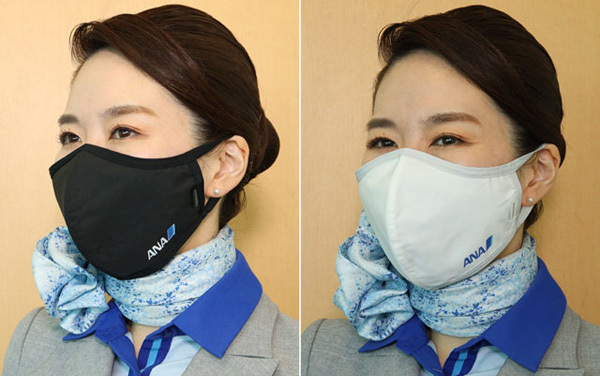 ANAのマスク、1枚3,300円が初日完売、つぎは機内備品?