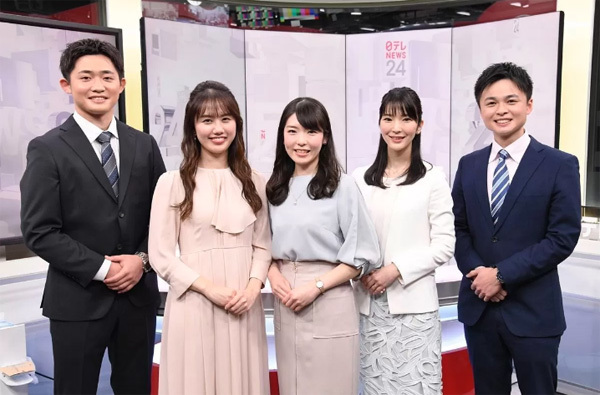 日本テレビはANAグループ社員5人を受け入れ、「日テレNEWS24」キャスターに!