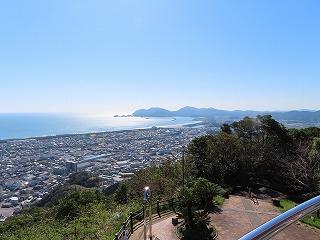 愛宕山展望台からの眺め