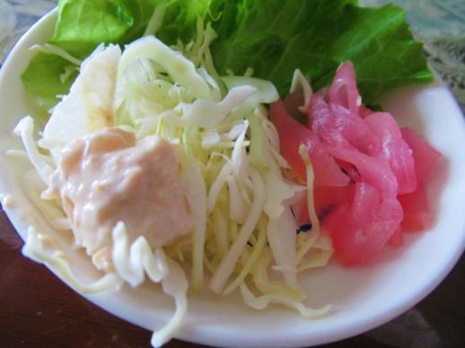 107  生野菜と漬物(1)