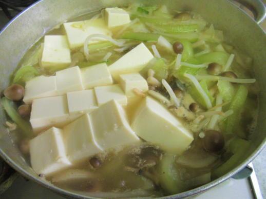 222  野菜豆腐煮(1)