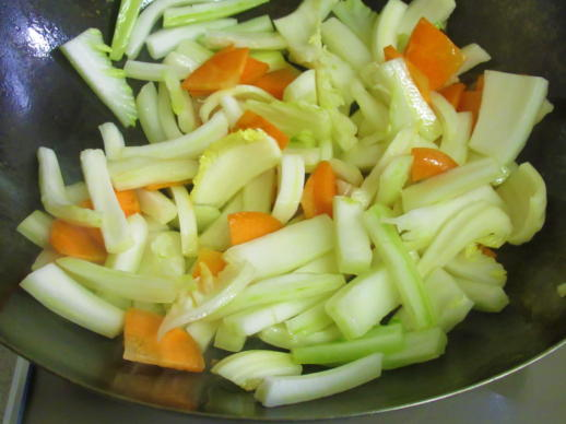 214  白菜炒め(1)