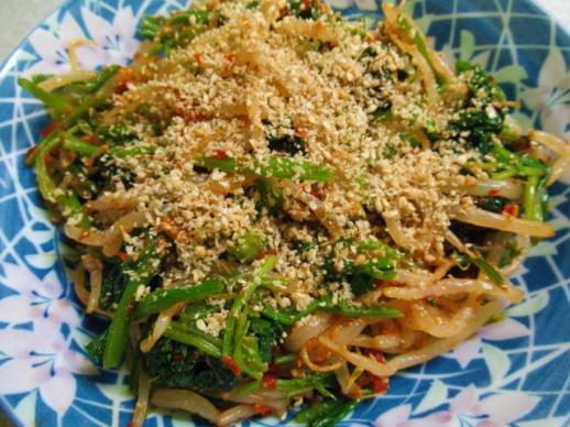 231  小松菜とほうれん草のナムル(1)