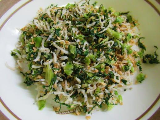 231  野沢菜ちりめんおろし(1)