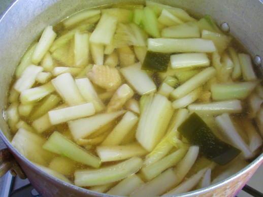 222  白菜の白い部分(1)