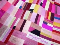 ピンク 春色 シルク オクサ 端切れ繋ぎ チョガッポピンク 春色 シルク オクサ 端切れ繋ぎ チョガッポ