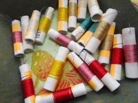チヌサ 太目の絹糸
