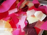 ピンク系 春色 シルク オクサ チョガッポ 暖色