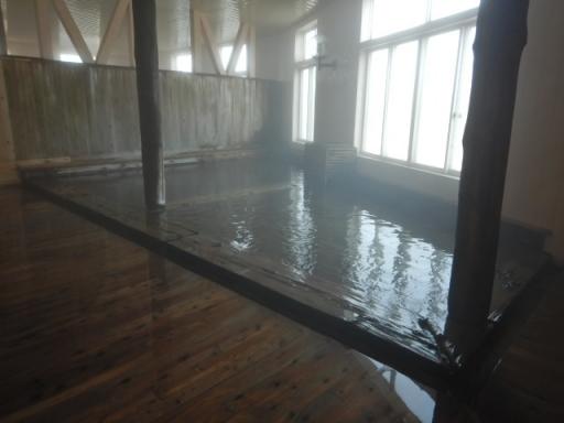 ヒバ大浴場