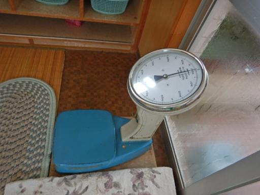 可愛い重量計