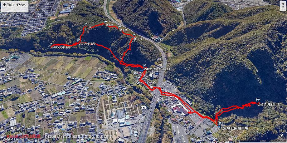 20200326土田山ルートマップ