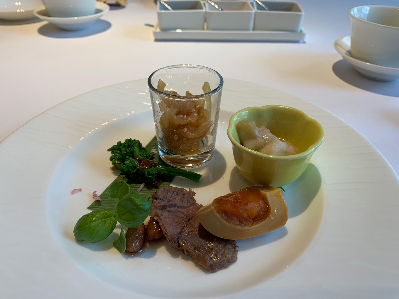 リッツ中華前菜