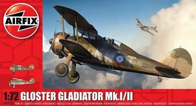 エアフィックス 172 イギリス空軍 グロースター グラディエーター Mk.1Mk.2「英霊機」プラモデル戦乙女ネームドワルキューレ山村響クラウディア・ブラフォード館山基地へようこそRtBストライクウィッチーズROAD to BERLIN2020秋アニメWarlords of Sigrdrifa戦翼のシグルドリーヴァ