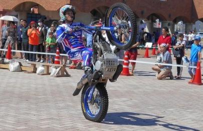 静岡カーフェスティバル2019トライアル(Observed trials, Motorcycle trials) フリースタイルモトクロス(Freestyle MotocrossFMX)モンテッサ・ホンダ (Montesa Honda)ガスガス(GAS GAS)ベータモーター(Betamotor)シェルコ(Sherco)スコルパ(Scorpa)エスパルスドリームプラザ専門学校 静岡工科自動車大学