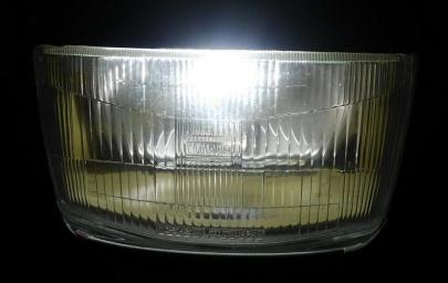 LEDヘッドライト H4車検対応バルブ電球H4ハロゲンヘッドライトレンズLUMRANヘッドランプ明るいバイク用シールドビーム規格ルムラン高性能COB搭載ヒートシンクボディ異形ヘッドランプKoito小糸製作所ヤマハFZ250PHAZER(1KG)FZ250フェーザーFZR250(2KR)