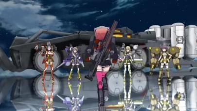 装甲娘戦機sōkō musume senki 裝甲娘戰機-OPEDダンボール戦機WARSオー・エル・エムOLMバンダイLBXプラモデル装甲娘 ミゼレムクライシスDMM GAMES