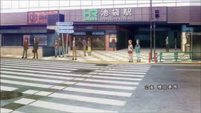 池袋駅聖地巡礼Ikebukuro装甲娘戦機sōkō musume senki 裝甲娘戰機-OPEDダンボール戦機WARSオー・エル・エムOLMバンダイLBXプラモデル装甲娘 ミゼレムクライシスDMM GAMES