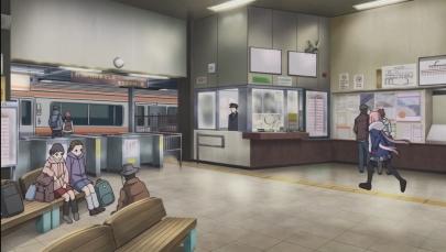 ゆるキャン△ SEASON2第4話laid-back-camp-s02e04「バイトのお金で何を買う?」なでしこJR身延線minobu身延駅
