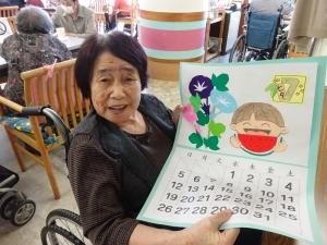 6/23 7月カレンダー作り(デイサービス)