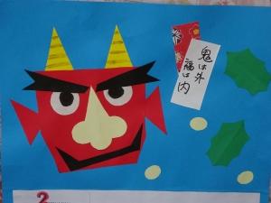 1/12(火)カレンダー作り(デイサービス)