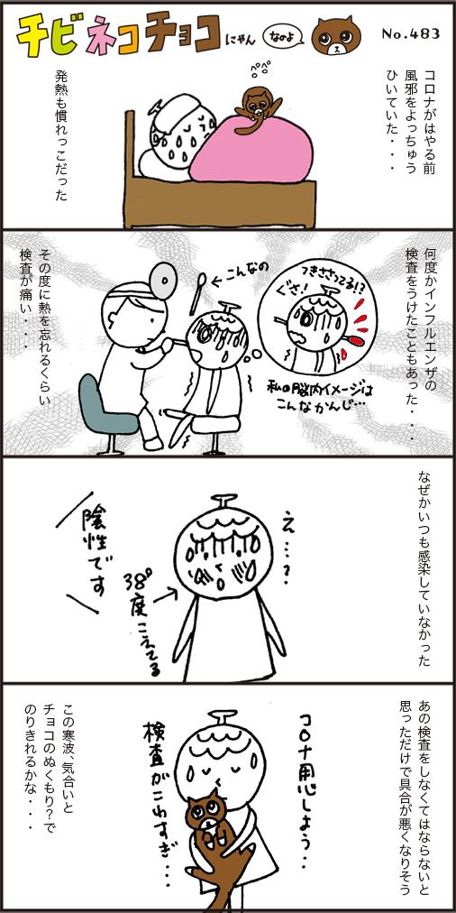 インフルエンザの検査の記憶・・・