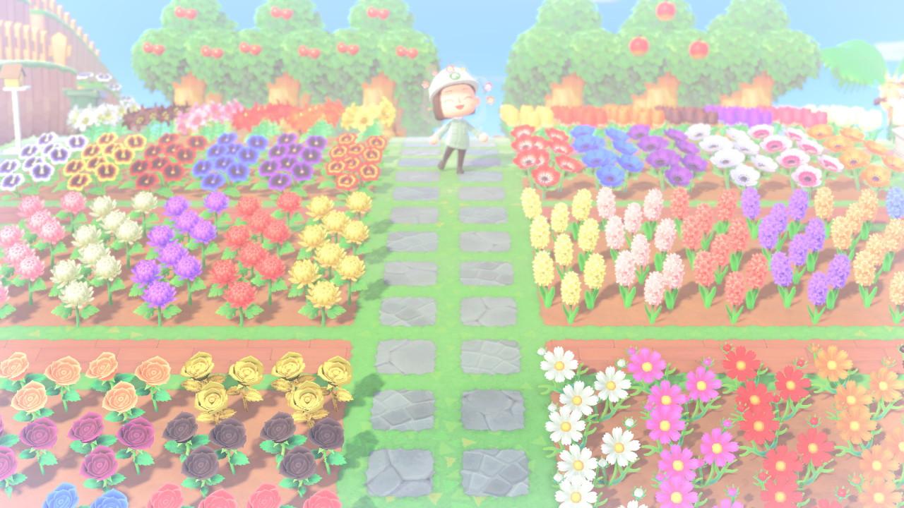 あつ森花配合 植え方