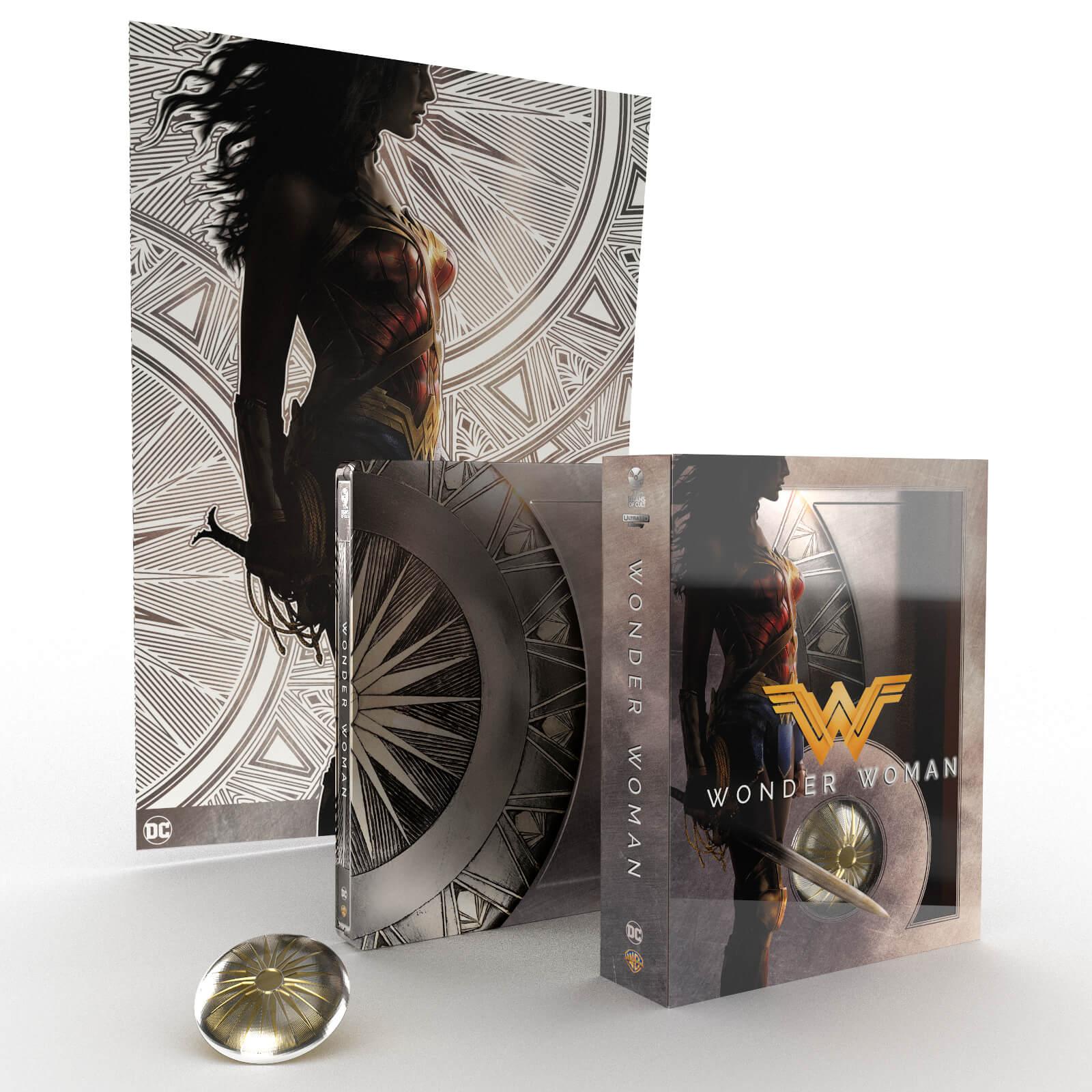 ワンダーウーマン TITANS OF CULT スチールブック wonder woman steelbook