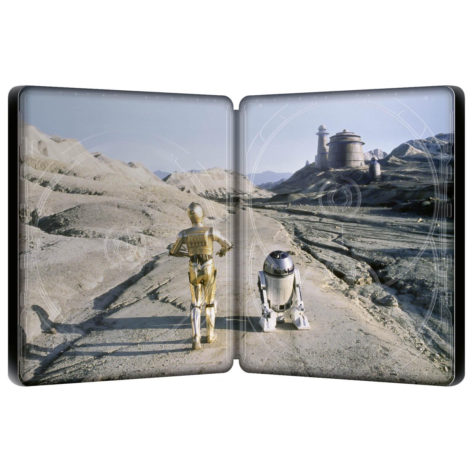スター・ウォーズ エピソード6/ジェダイの帰還 スチールブック Star Wars: Episode VI - Return of the Jedi Zavvi steelbook
