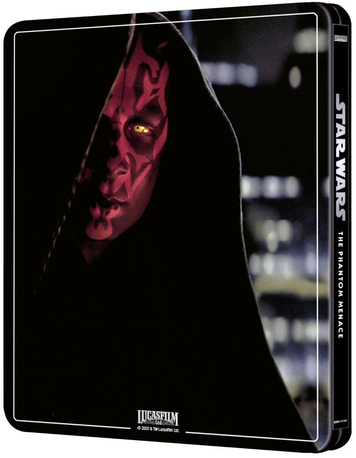 スター・ウォーズ エピソード1/ファントム・メナス スチールブック Star Wars: Episode I The Phantom Menace Zavvi steelbook