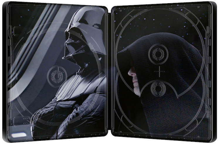 スター・ウォーズ エピソード3/シスの復讐 スチールブック Star Wars: Episode III Revenge of the Sith Zavvi steelbook