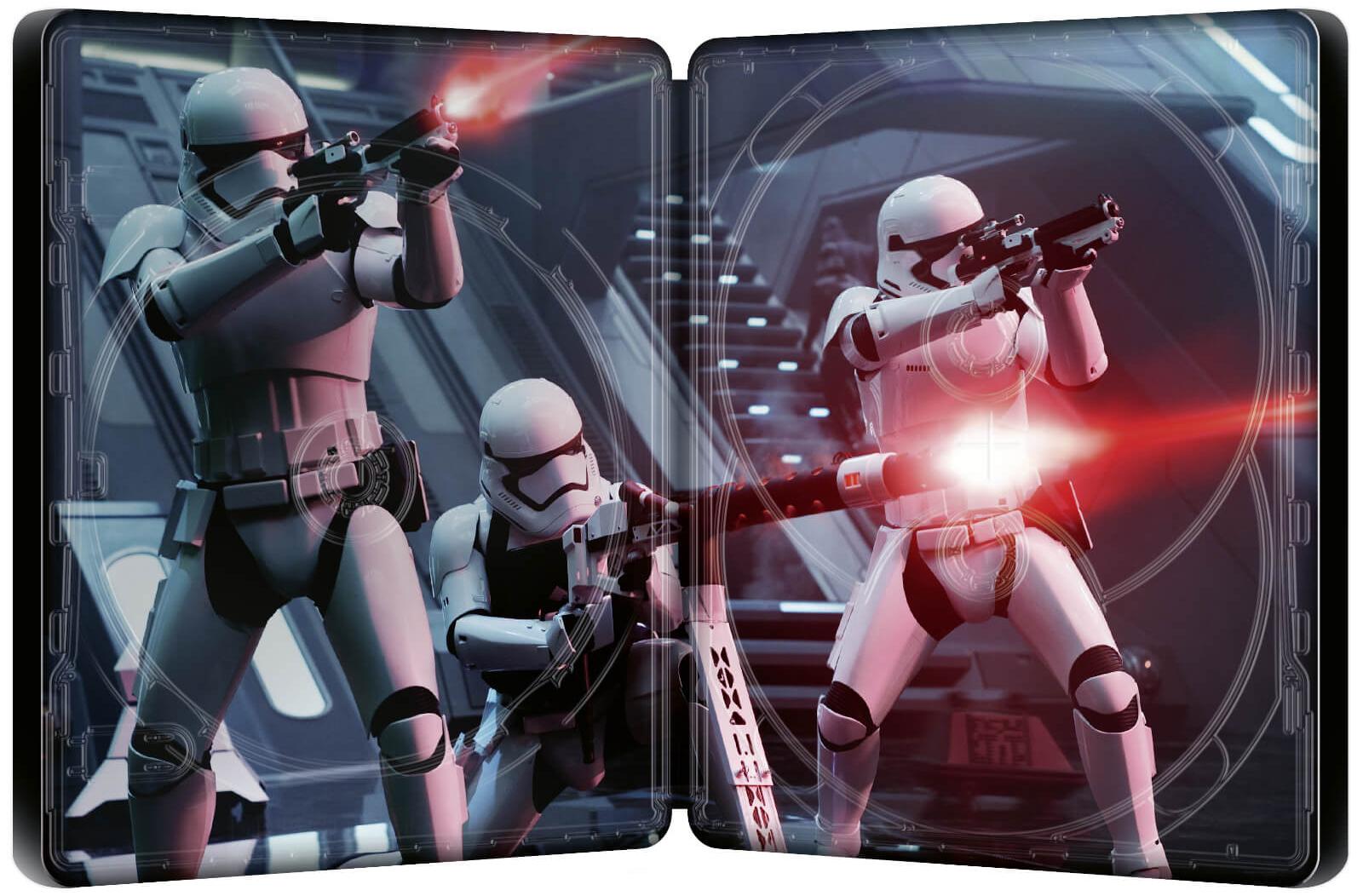 スター・ウォーズ/フォースの覚醒 スチールブック Star Wars: The Force Awakens Zavvi steelbook