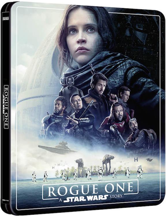 ローグ・ワン/スター・ウォーズ・ストーリー スチールブック Rogue One: A Star Wars Story Zavvi steelbook