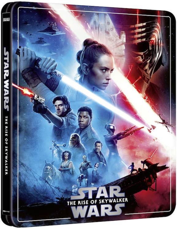 スター・ウォーズ/スカイウォーカーの夜明け スチールブック Star Wars: The Rise of Skywalker Zavvi steelbook