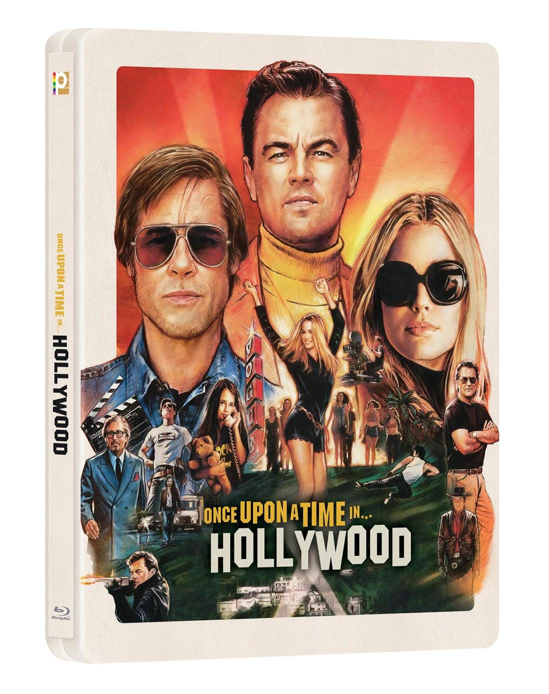 ワンス・アポン・ア・タイム・イン・ハリウッド Manta Lab Once Upon A Time In Hollywood steelbook スチールブック