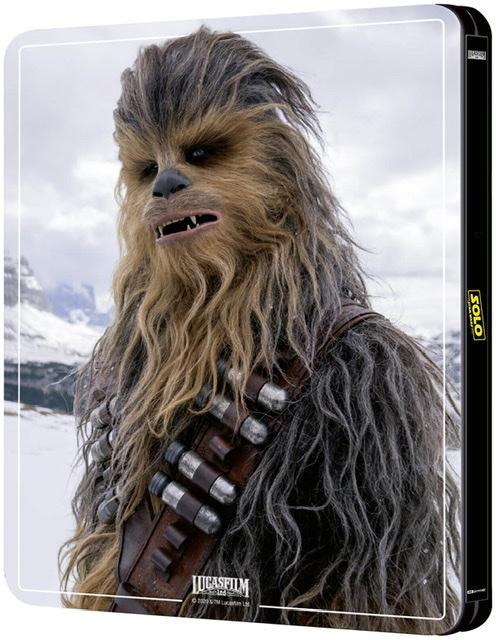 ハン・ソロ/スター・ウォーズ・ストーリー スチールブック Solo: A Star Wars Story steelbook