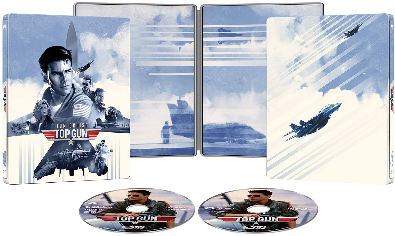 トップガン TV吹替初収録特別版 4K Ultra HD スチールブック Topgun Japan steelbook