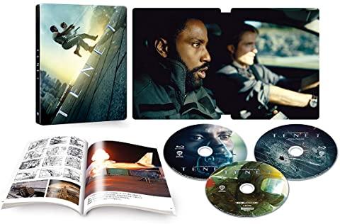 TENET テネット 4K UHD MovieNEX スチールブック steelbook