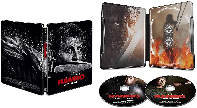 ランボー ラスト・ブラッド スチールブック Rambo: Last Blood Japan steelbook