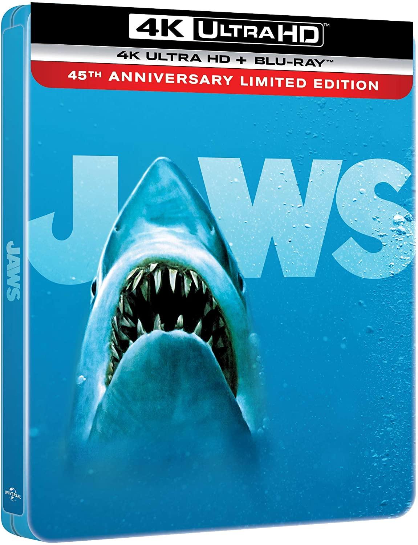 ジョーズ JAWS 4K Ultra HD steelbook スチールブック