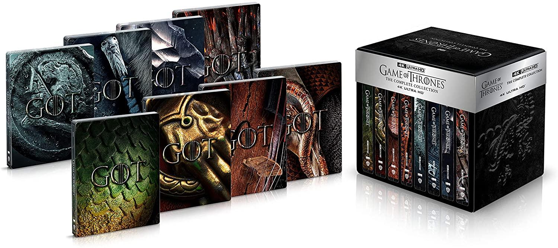 ゲーム・オブ・スローンズ(第一章~最終章) 4K ULTRA HD コンプリート・シリーズデラックスメタルケース仕様 steelbook