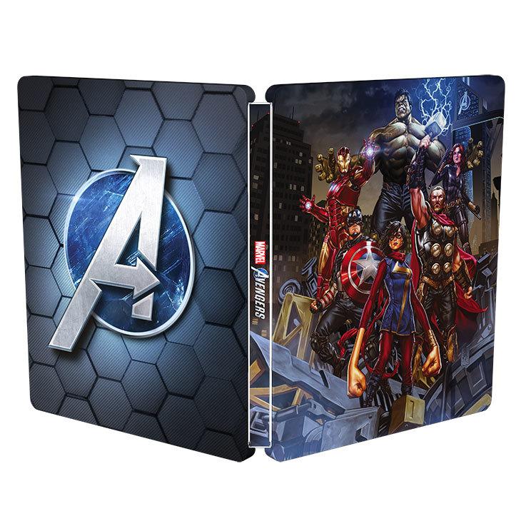 Marvel's Avengers アベンジャーズ スチールブック steelbook