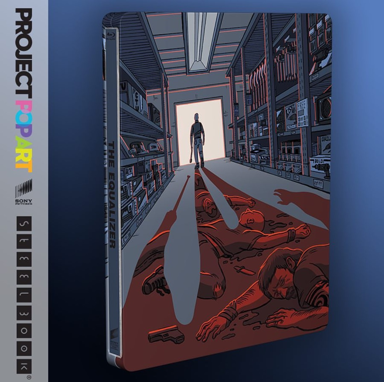 イコライザー スチールブック The Equalizer pop art steelbook