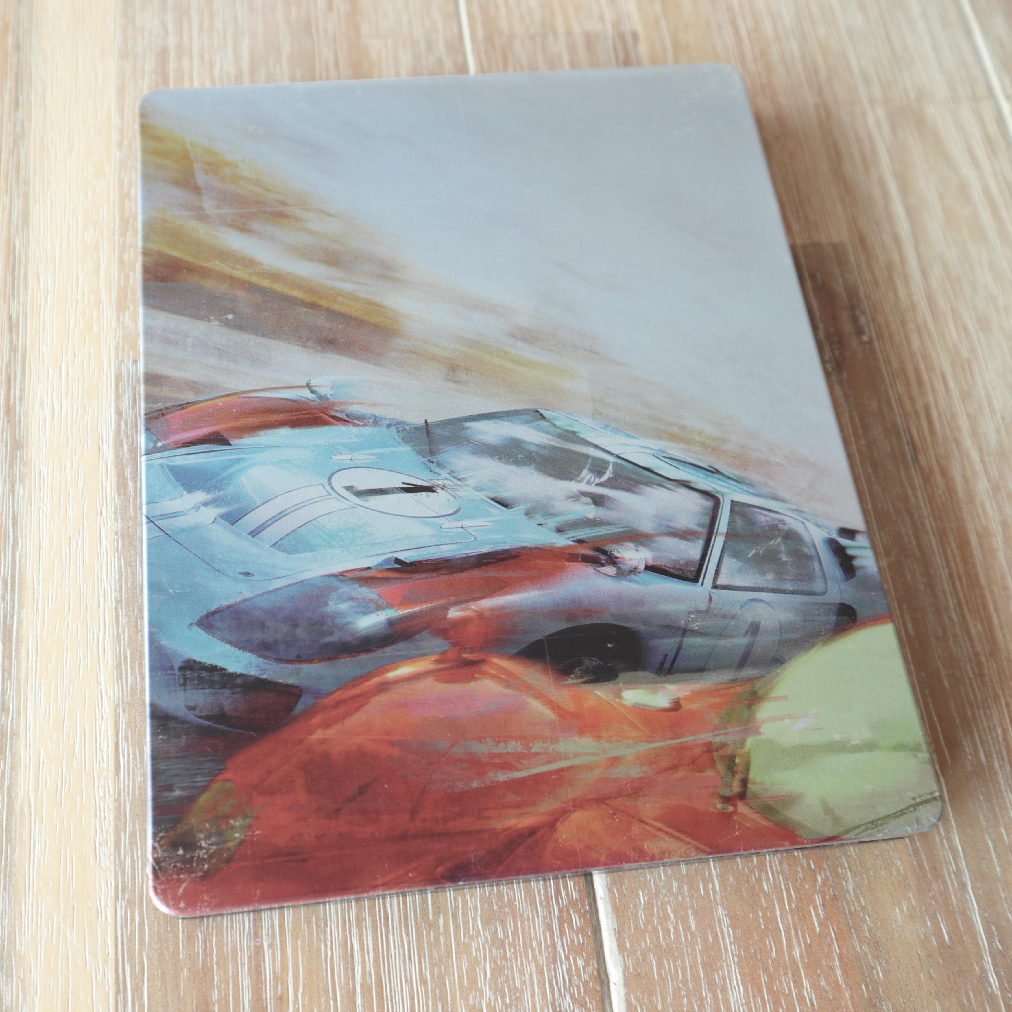 Ford v Ferrari Amazon.co.jp steelbook フォードvsフェラーリ スチールブック